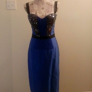Blue La Perla Dress